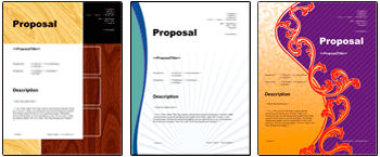 Proposal Kit Logo and Title Page Cover Designs