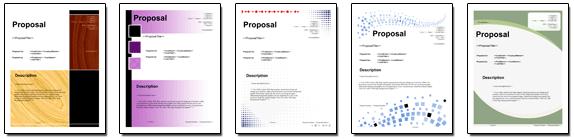Proposal Pack Global 1 Software Templates Samples