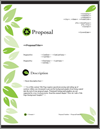 Proposal Pack Environmental #1