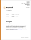 Proposal Pack Minimalist #1