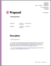Proposal Pack Minimalist #10