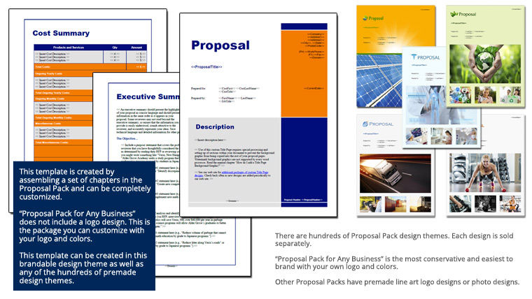 Proposal Pack for Any Business
