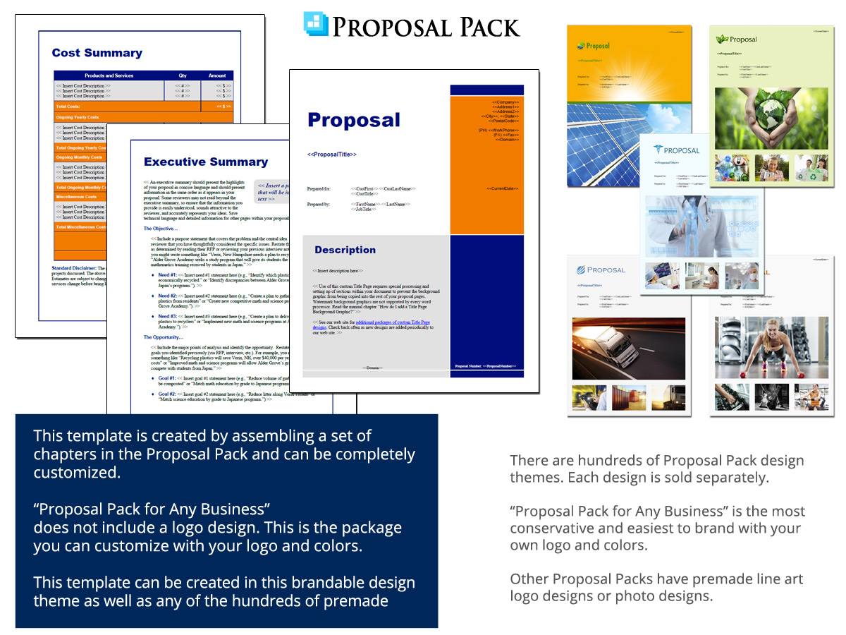 Siding Contractor Proposal Template