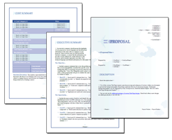 Business Proposal Software and Templates Aerospace #1