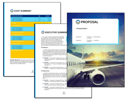Business Proposal Software and Templates Aerospace #3