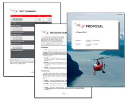 Business Proposal Software and Templates Aerospace #5