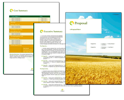 Business Proposal Software and Templates Agriculture #4