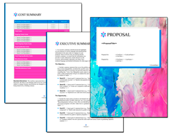 Business Proposal Software and Templates Artsy #10