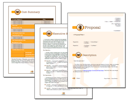 Business Proposal Software and Templates Books #1