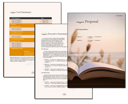 Business Proposal Software and Templates Books #3