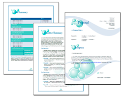 Business Proposal Software and Templates Bubbles #1