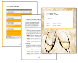 Business Proposal Software and Templates Bubbles #3