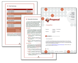 Business Proposal Software and Templates Business #5