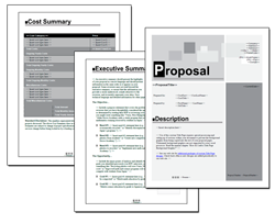 Business Proposal Software and Templates Classic #1