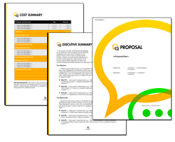Business Proposal Software and Templates Communication #3