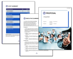 Business Proposal Software and Templates Communication #4