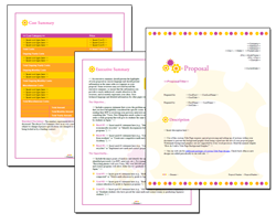Business Proposal Software and Templates Concepts #11
