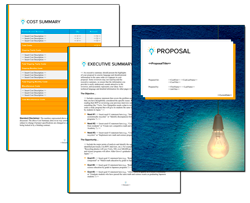 Business Proposal Software and Templates Concepts #17