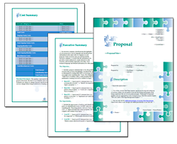 Business Proposal Software and Templates Concepts #2