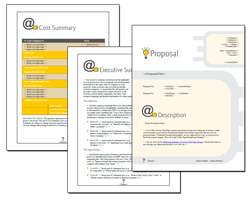 Business Proposal Software and Templates Concepts #7