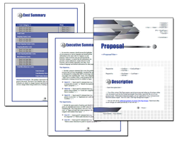 Business Proposal Software and Templates Construction #1