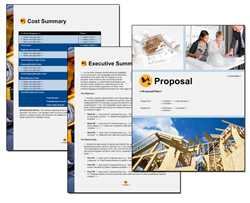 Business Proposal Software and Templates Construction #5