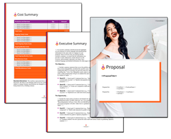 Business Proposal Software and Templates Contemporary #17