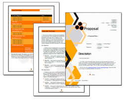 Business Proposal Software and Templates Contemporary #1