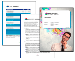Business Proposal Software and Templates Contemporary #21