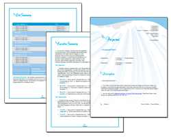 Business Proposal Software and Templates Elegant #3