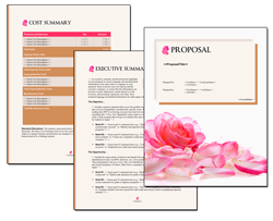 Business Proposal Software and Templates Elegant #4