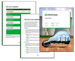 Business Proposal Software and Templates Energy #11