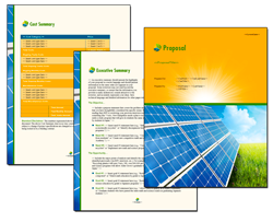 Business Proposal Software and Templates Energy #9