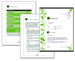 Business Proposal Software and Templates Environmental #1