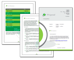 Business Proposal Software and Templates Environmental #3