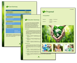Business Proposal Software and Templates Environmental #4