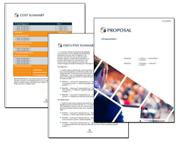 Business Proposal Software and Templates Events #4