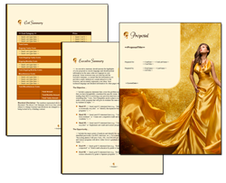 Business Proposal Software and Templates Fashion #5