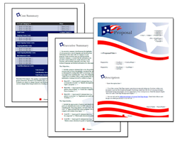 Business Proposal Software and Templates Flag #1
