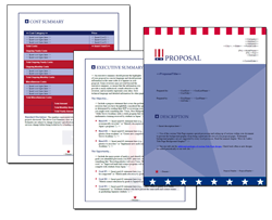 Business Proposal Software and Templates Flag #2