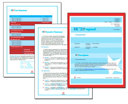 Business Proposal Software and Templates Flag #4