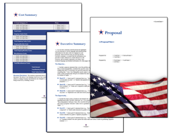 Business Proposal Software and Templates Flag #6