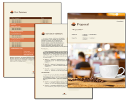 Business Proposal Software and Templates Food #4