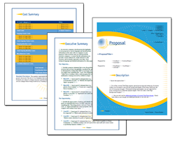 Business Proposal Software and Templates Global #1