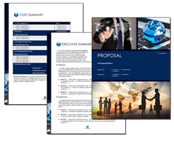 Business Proposal Software and Templates Global #4