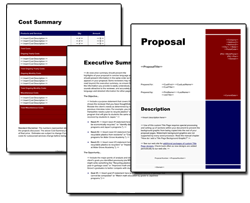 Business Proposal Software And Templates For Government Grants  Business Funding Proposal Template