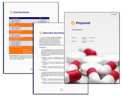 Business Proposal Software and Templates Healthcare #5