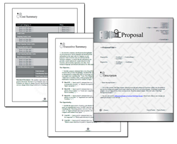 Business Proposal Software and Templates Industrial #1