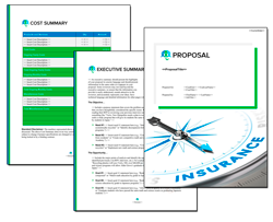 Business Proposal Software and Templates Insurance #2