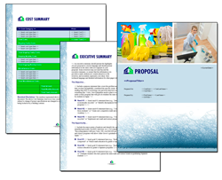 Business Proposal Software and Templates Janitorial #3